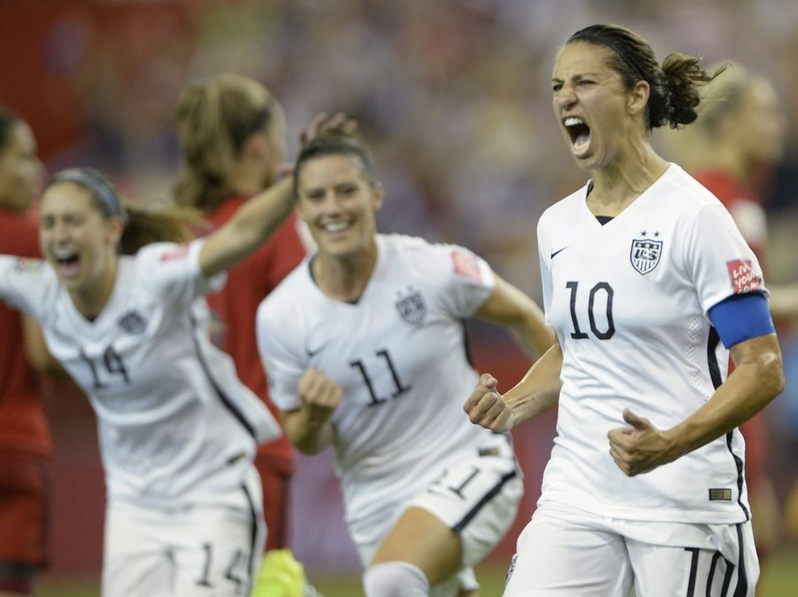 No country has had more success in women's soccer over the last two decades than the United States, and Carli Lloyd (10) and her teammates can add to that legacy on Sunday with a win against Japan.