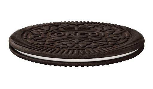"This product image provided by Mondelez shows an ""Oreo Thin"". Mondelez International Inc. says it will add ""Oreo Thins,"" which have a similar cookie-to-filling ratio as regular Oreos, except that they're slimmer, to its permanent lineup in the U.S. starting next week."