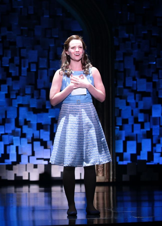 "Whitney Bashor plays the ever-supportive Bertie, a role that needs expanding, in the musical ""Beaches"" running through Aug. 16, at Drury Lane Theatre in Oakbrook Terrace."