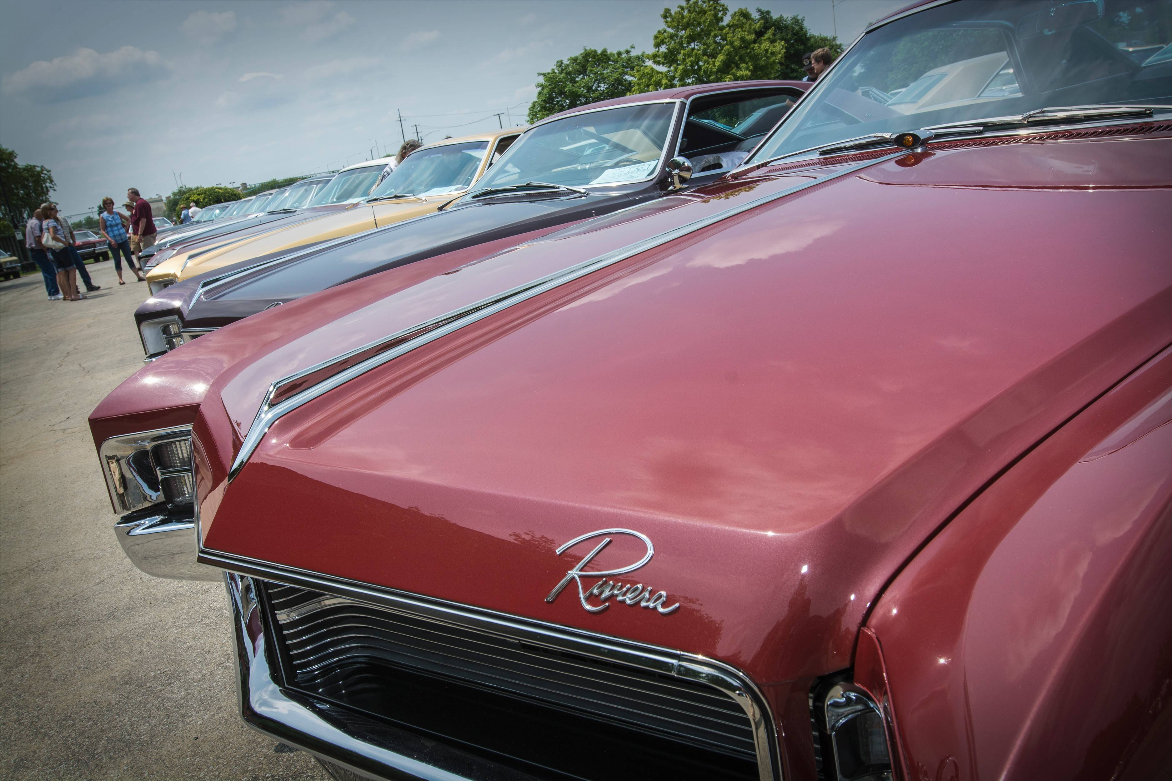 The Riviera Owners Association car club's 31st annual meet, Pheasant Run Resort, St. Charles, took place June 30 to July 3, 2015.