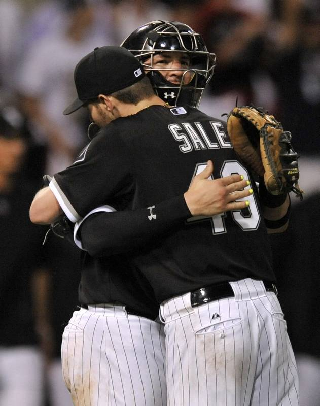 Images: Sale fans six, leads Chicago White Sox over Toronto Blue ...