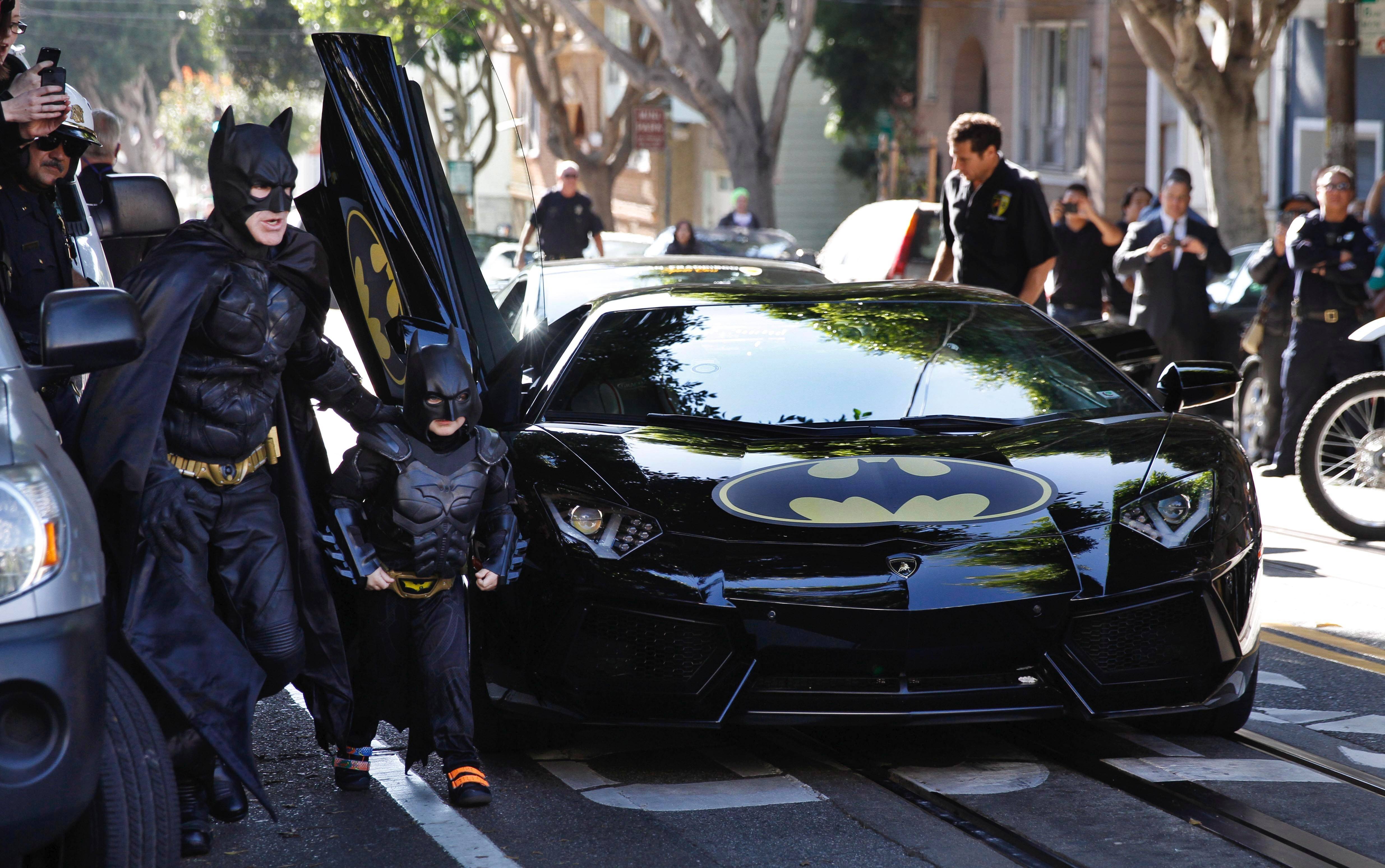"Miles, a 5-year-old cancer patient, lives his dream of becoming the Dark Knight for a day when San Francisco becomes Gotham City in the doc ""Batkid Begins."""