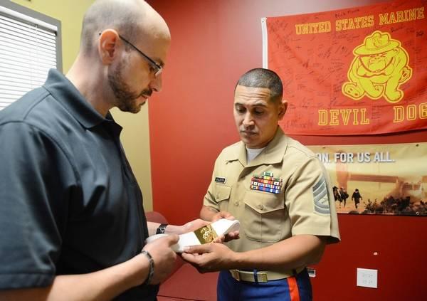 Local Marines Ensure Arlington Heights Veteran Was Buried