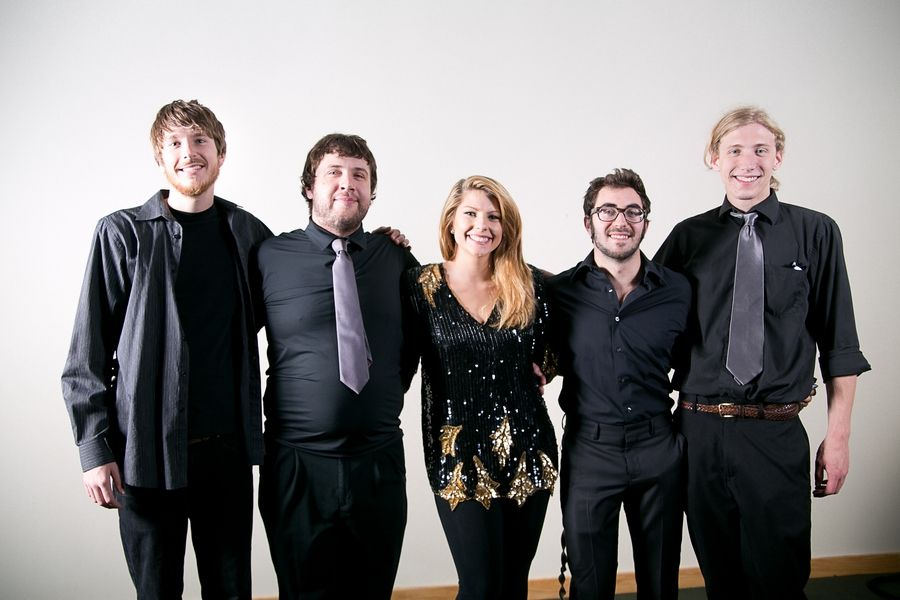 Laura Burke band featuring Jason Edel, Ryan Gore, Laura Burke, Alex Santilli and Mitch Klicki