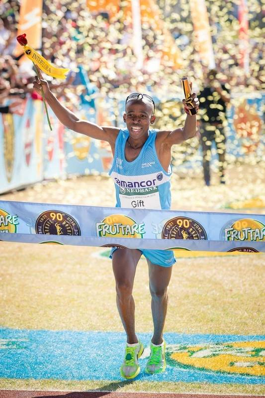 Getting past mental mileposts in an ultramarathon gift kelehe who won the comrades ultramarathon in south africa is a police officer negle Images