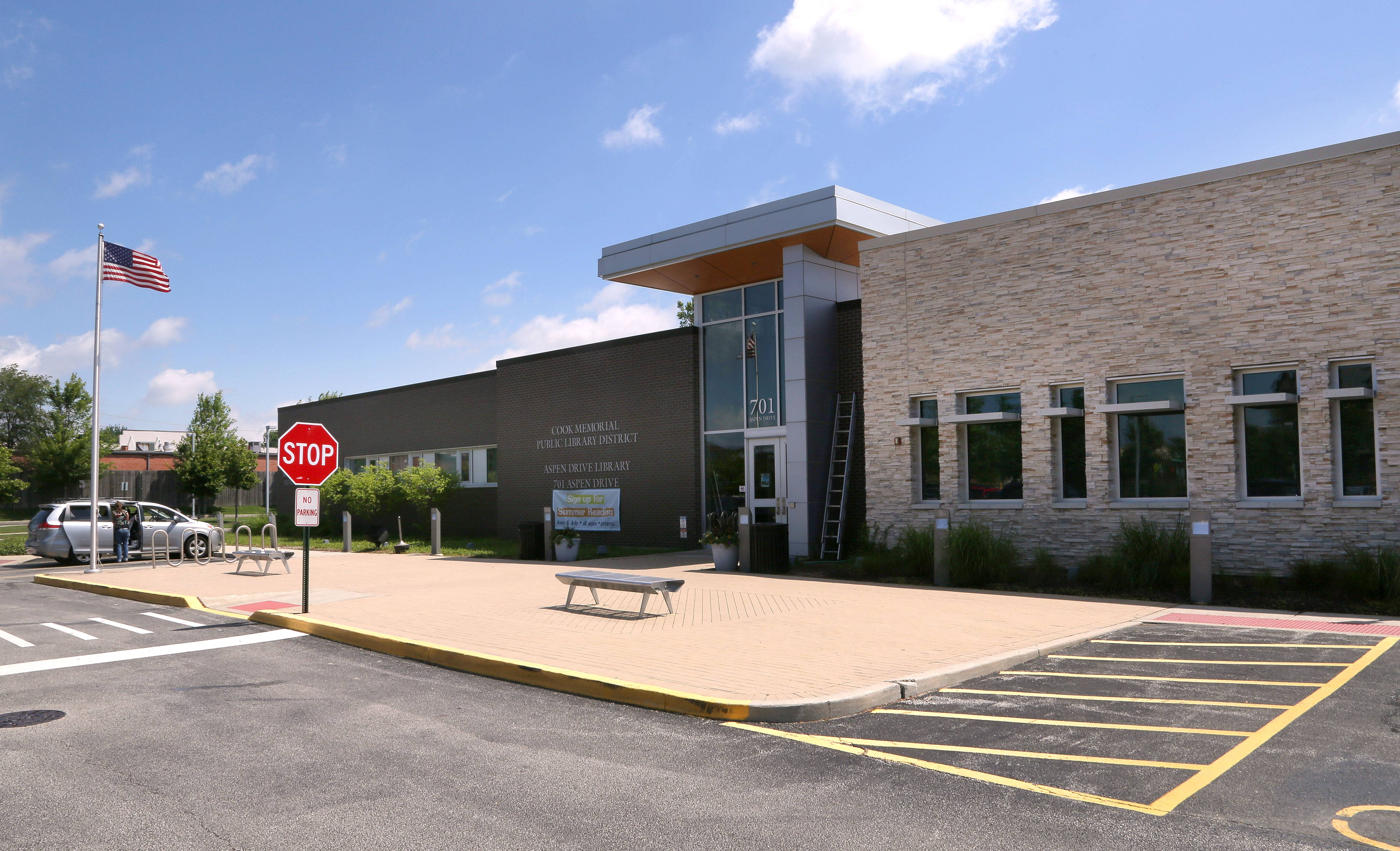 The Aspen Drive Library in Vernon Hills has been open for five years.