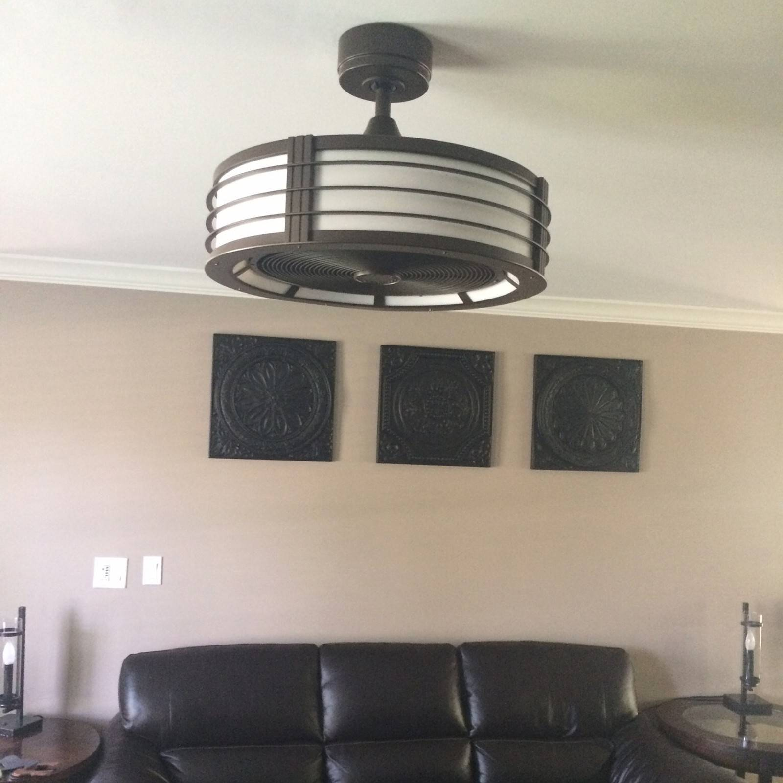 Hidden Ceiling Fan advances in technology, style propel ceiling fans