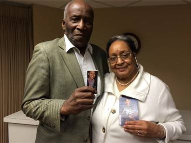 Bob and Petrina Moore, who live in the Beacon Hill retirement community in Lombard, proudly display photos of their only grandchild, WNBA superstar Maya Moore.