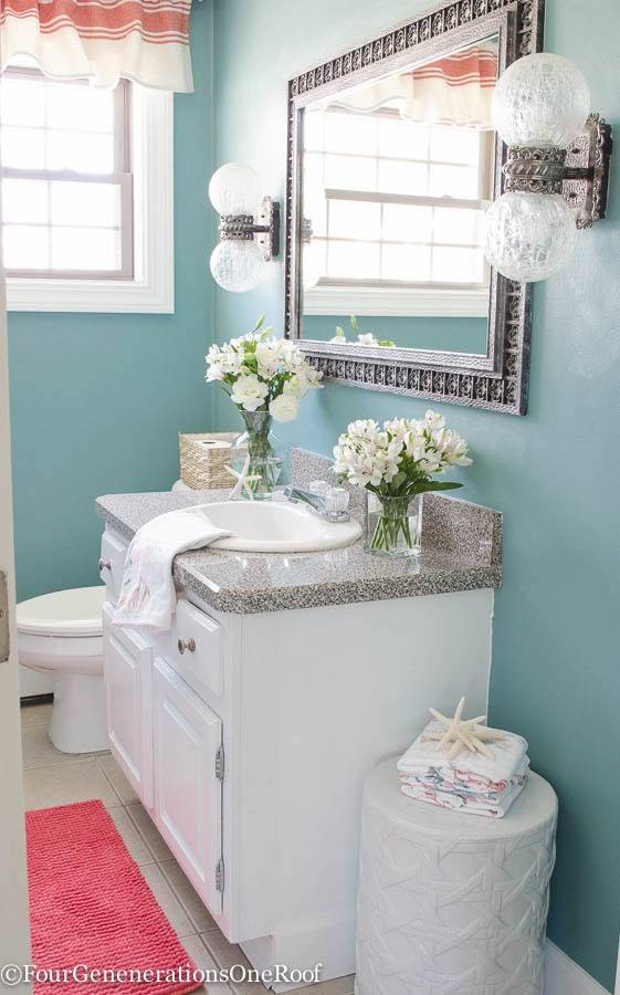 clean and relaxing is the goal in any bathroom upgrade  adding a strong pop of not every kitchen makeover needs to break the bank  rh   dailyherald com