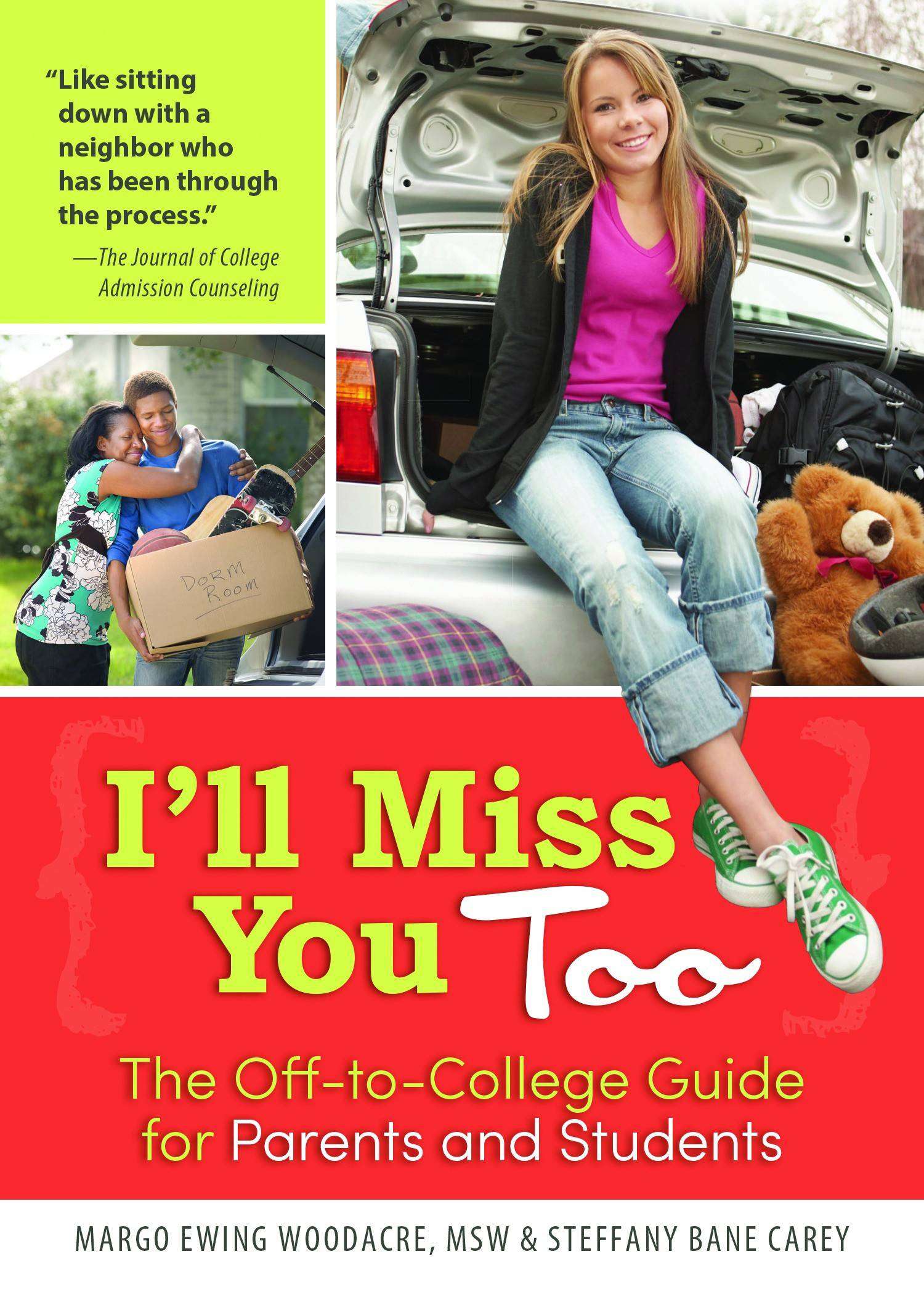 """I'll Miss You Too"" by Margo Ewing Woodacre, MSW & Steffany Bane Carey (2015, Sourcebooks) $14.99, 202 pages."
