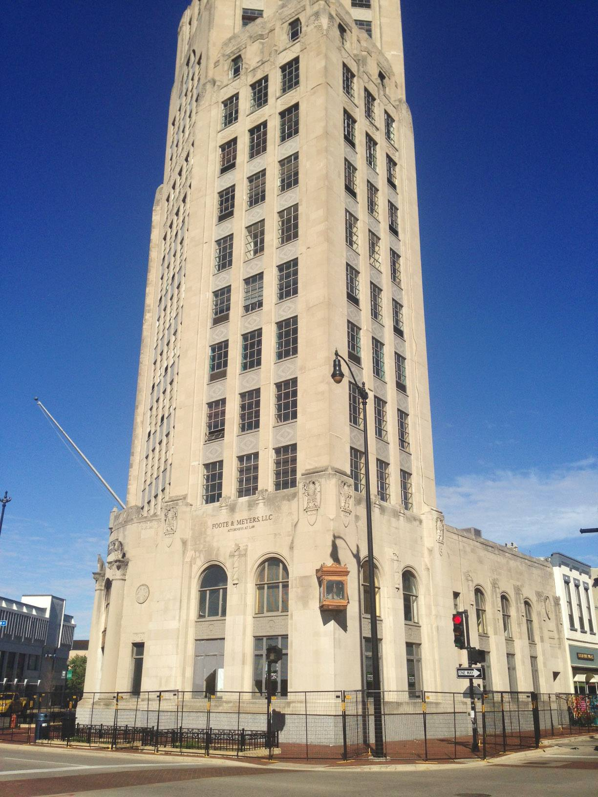 Elgin Tower battles for survival