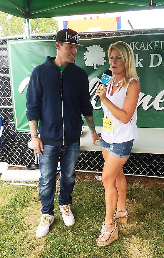 Having spent two decades with a microphone in her hand, Naperville's Dolly McCarthy is comfortable with a wide variety of guests. This interview with Vanilla Ice was for her radio show.