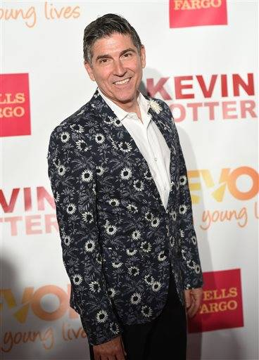 "FILE - In this June 15, 2015 file photo, James Lecesne attends TrevorLIVE New York to benefit The Trevor Project in New York. Lecesne, a writer and actor who co-founded the Trevor Project, is starring in his own thoughtful one-man show ""The Absolute Brightness of Leonard Pelkey"" at the Westside Theatre. (Photo by Evan Agostini/Invision/AP, File)"