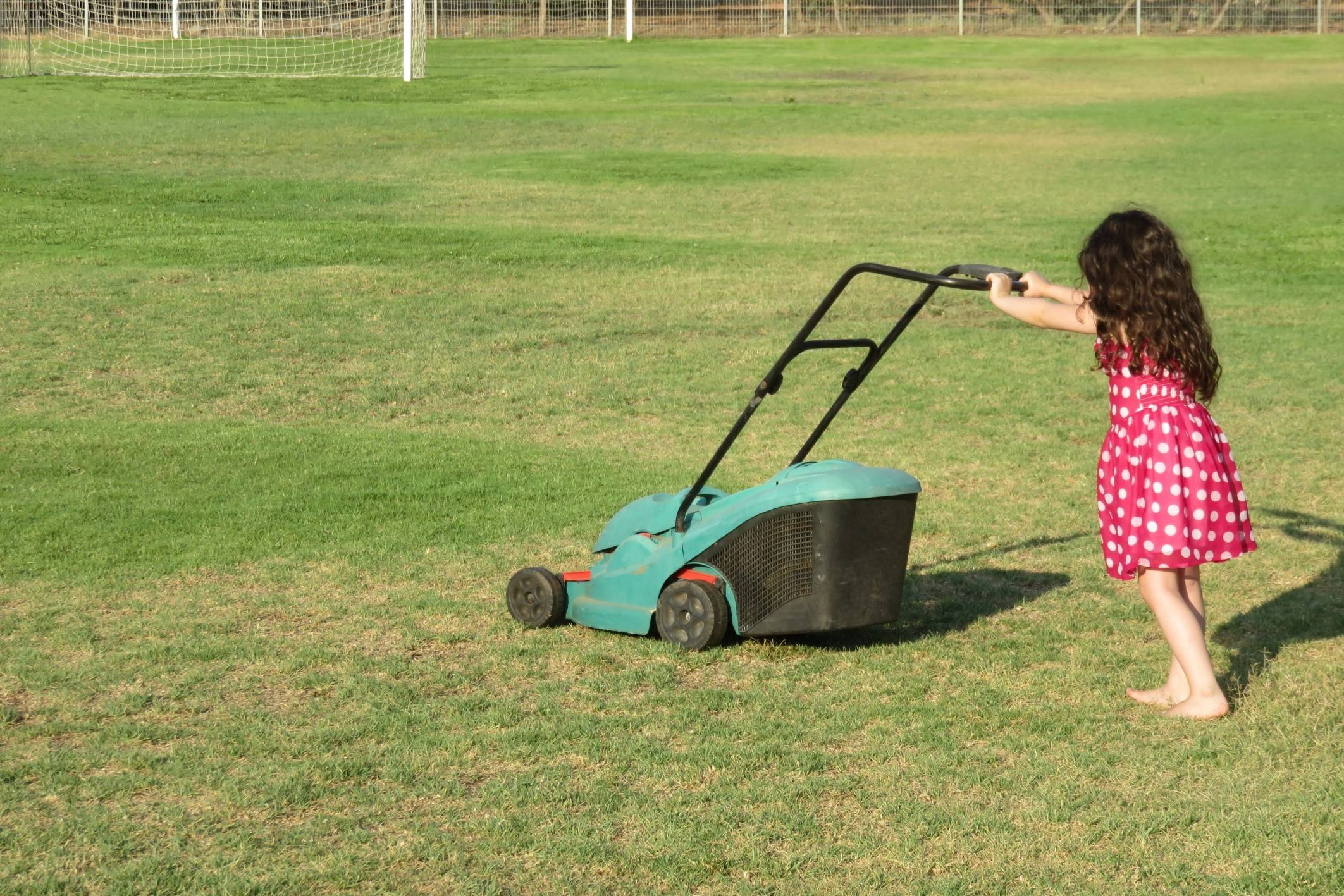 Every year, about 17,000 children in the United States are injured by lawn mowers.