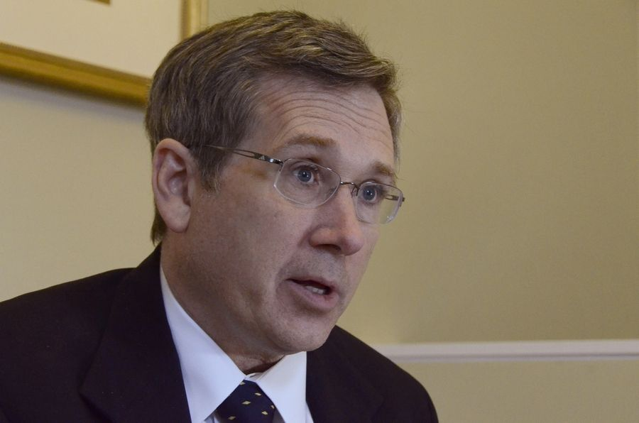 Sen. Mark Kirk is seeking re-election next year.