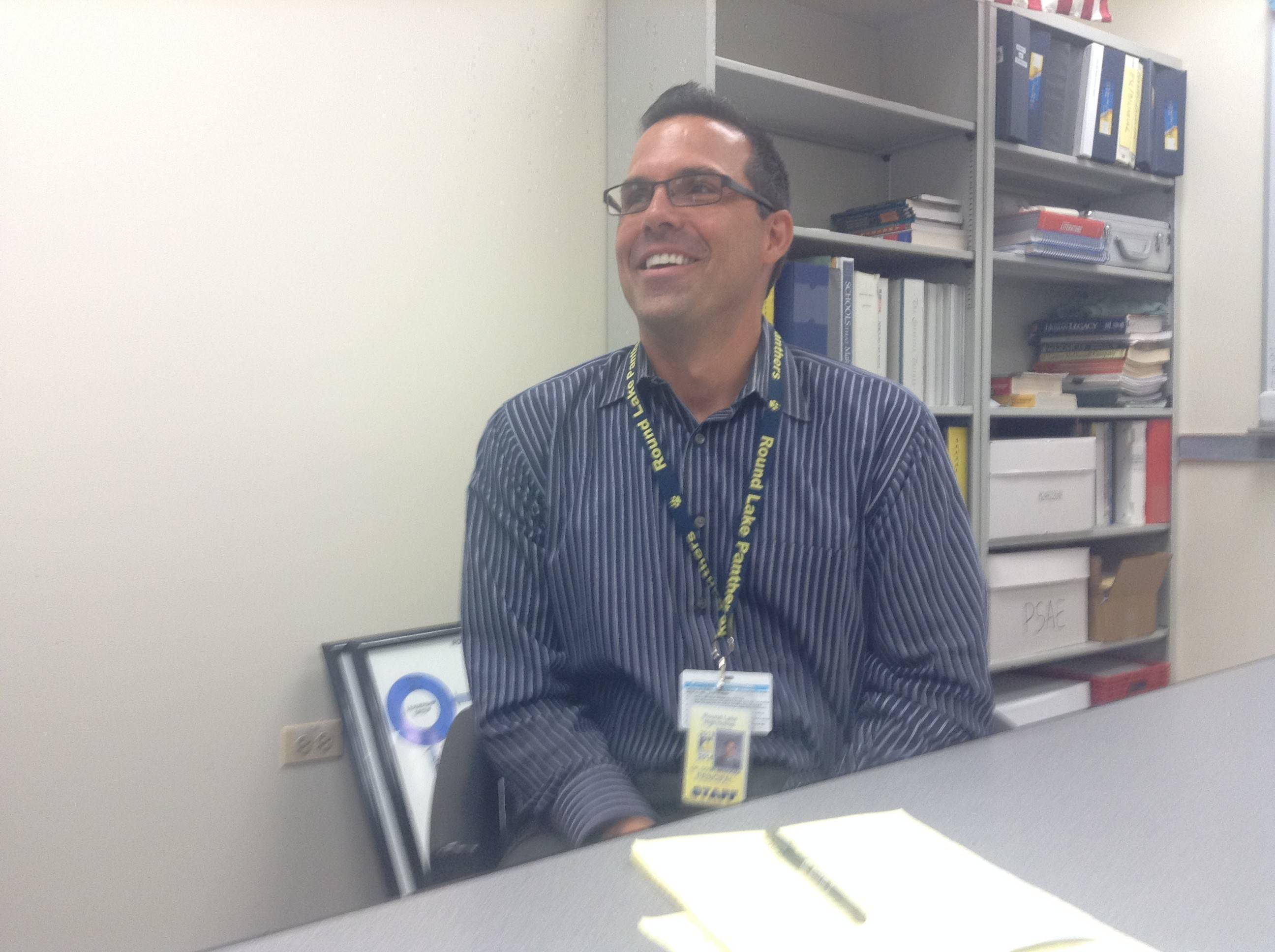 Extra duty for Round Lake High principal