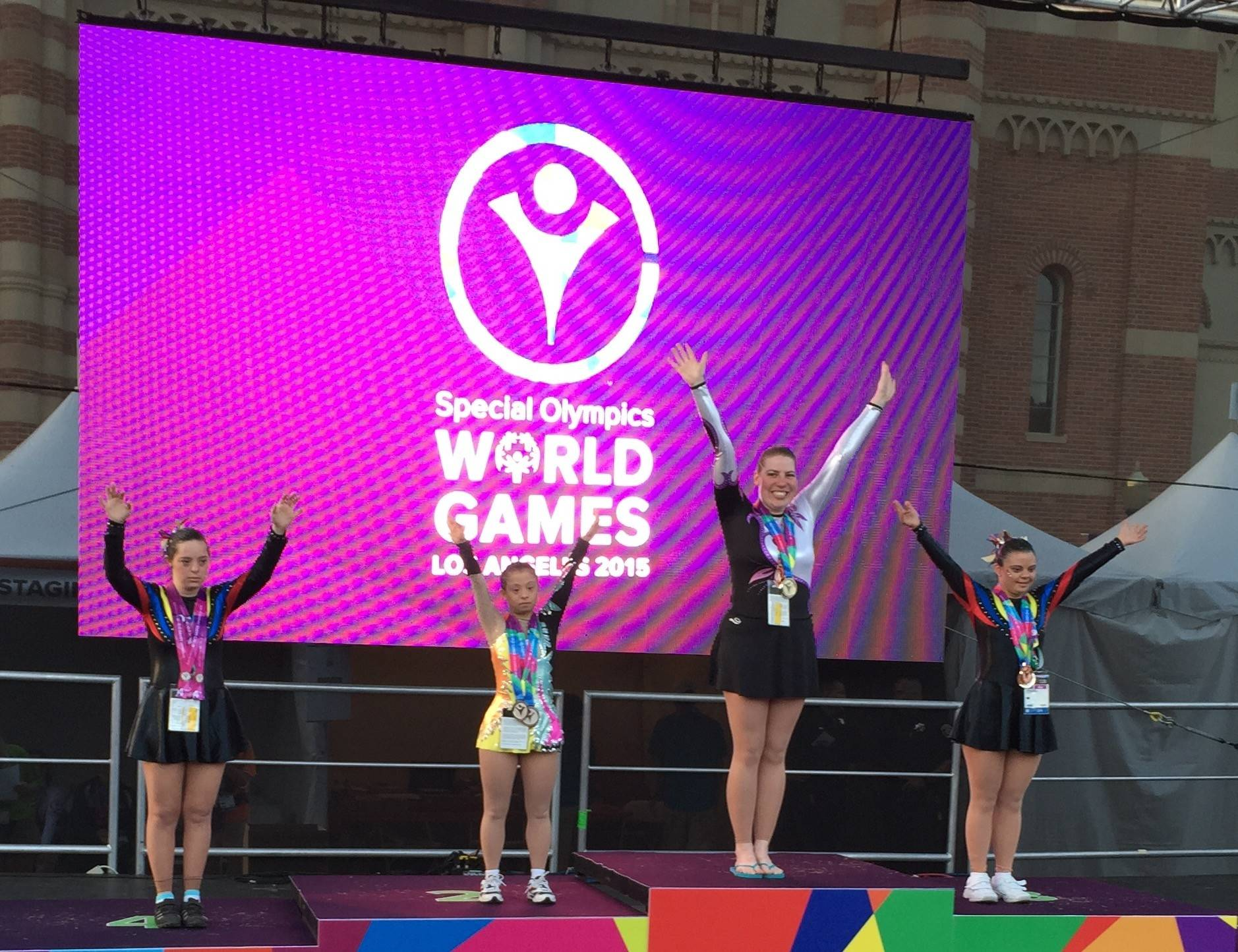 'Breathtaking' performance snags Geneva Special Olympian 5 medals