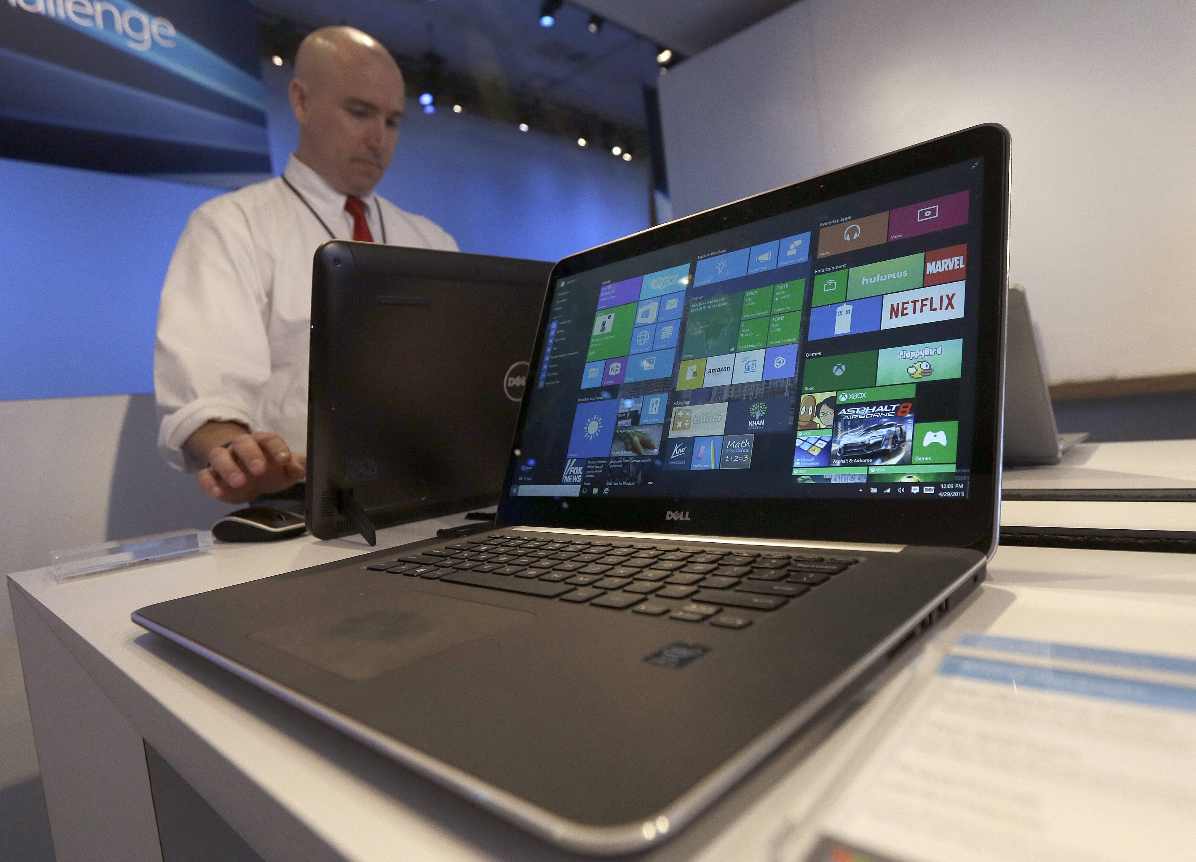 Microsoft's new Windows 10 operating system debuted Wednesday, as the longtime leader in PC software struggles to carve out a new role in a world where people increasingly rely on smartphones, tablets and information stored online.