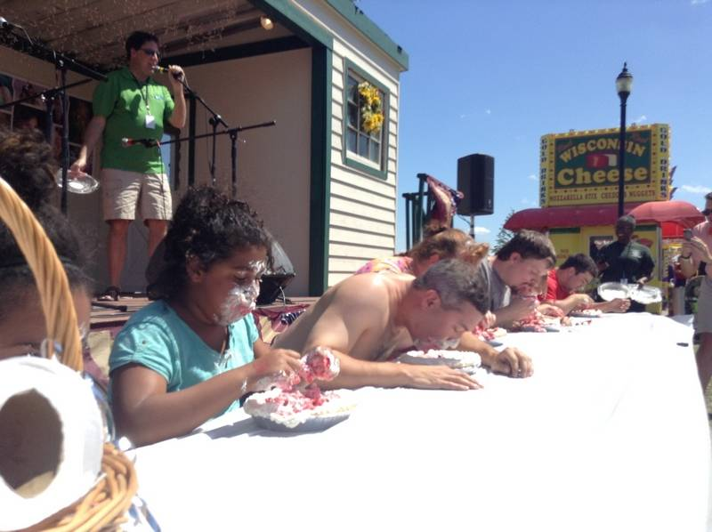 Lake County pie eating champ: Time to pass baton ...