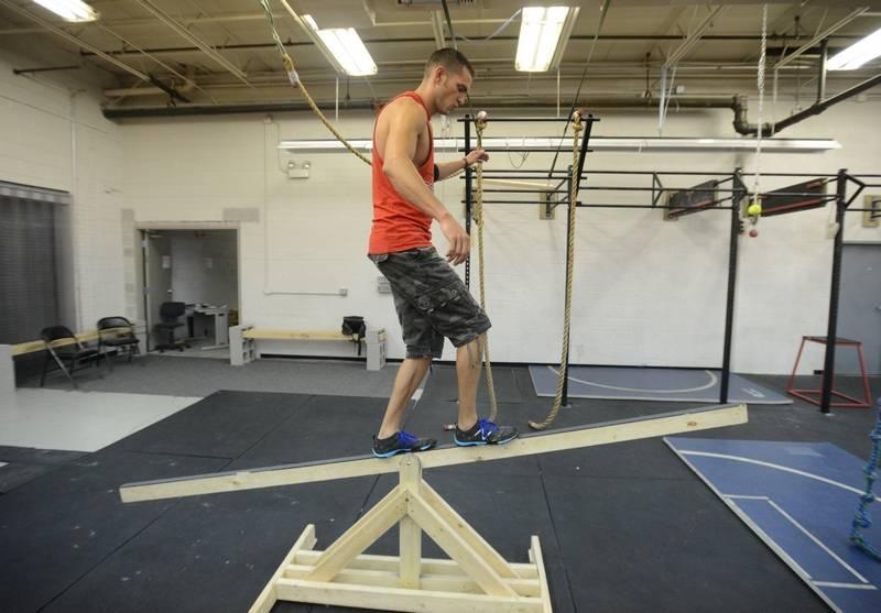 Suburban firefighters compete on american ninja warrior