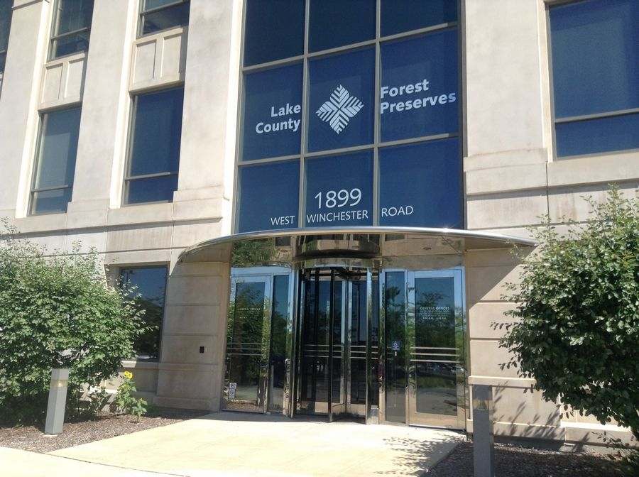 A change in state law will allow the Lake County Forest Preserve District to sell or lease space at its office at 1899 W. Wincheser Road, Libertyville