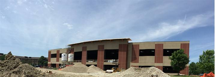 The new Naperville Yard indoor sports facility is nearing completion at 1607 Legacy Circle near Diehl Road and Freedom Drive in Naperville.