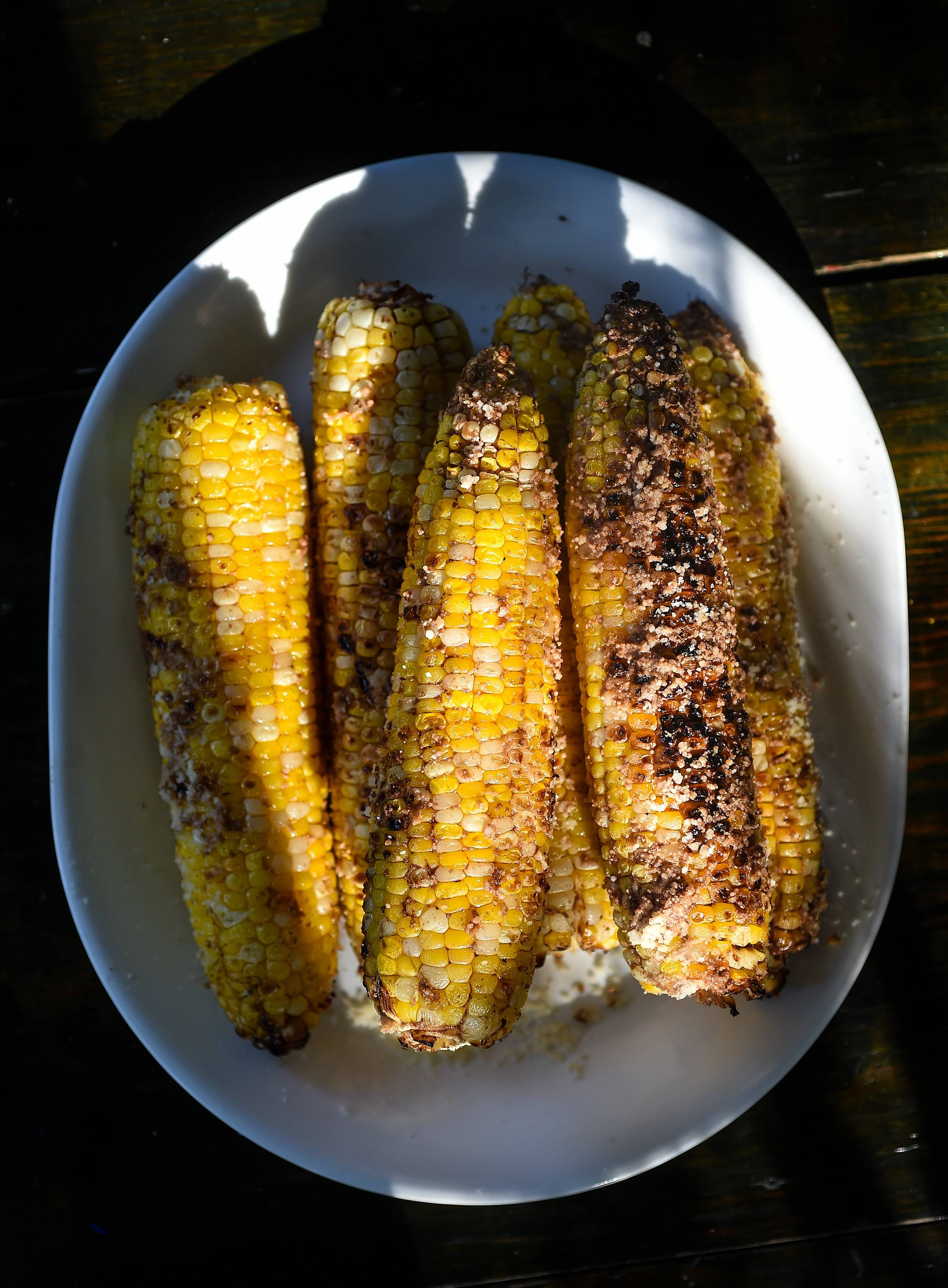Corn on the cob and fire, put to the test