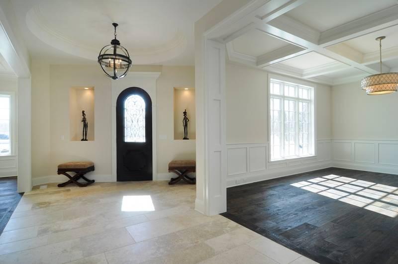 Morgante-Wilson Architects Ltd. of Evanston's innovative ceiling designs  draw the eye through the