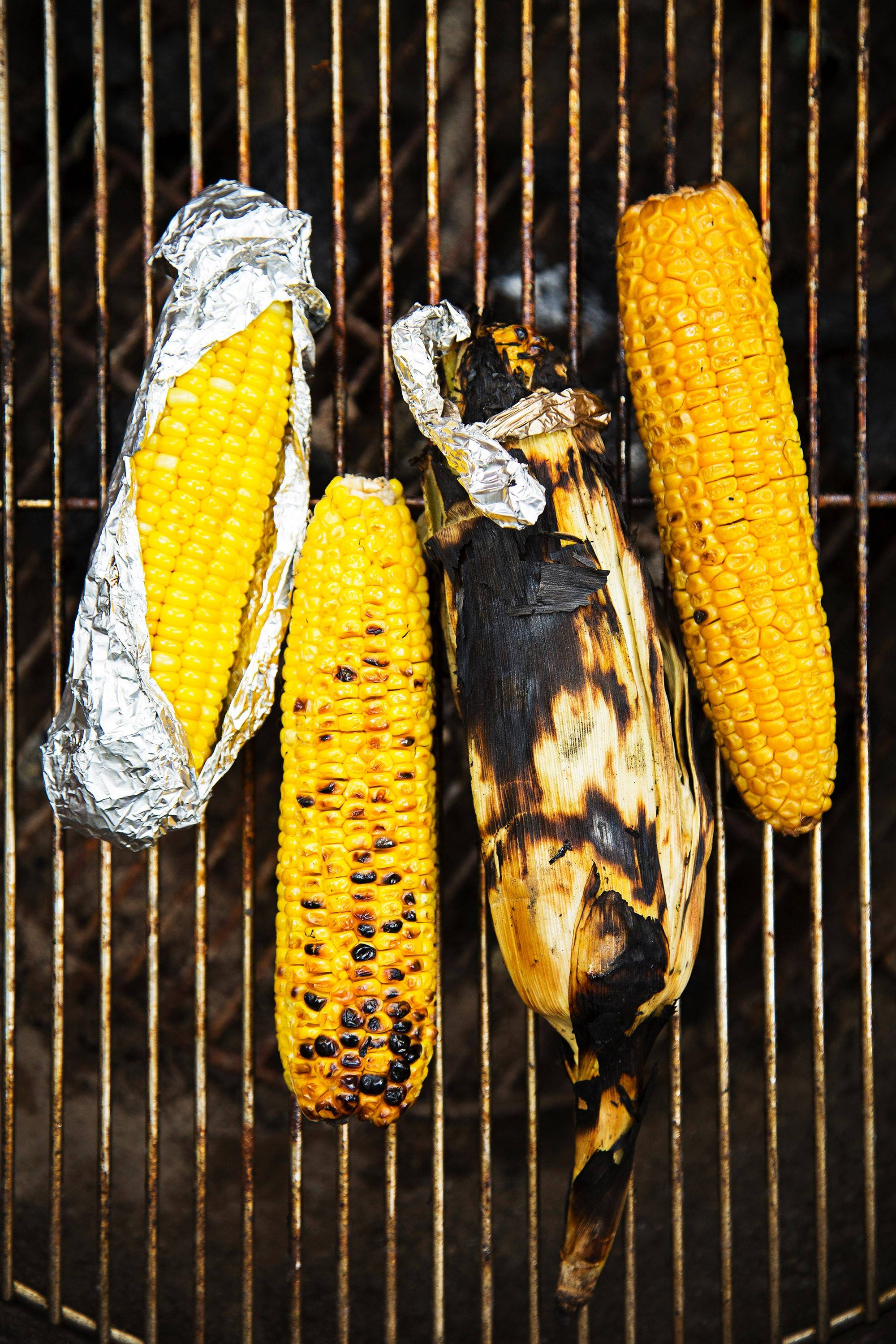 Grilled Corn Four Ways. Oak and apple woods work especially well because they are mild, but other hardwoods, such as pecan and cherry, are fine.