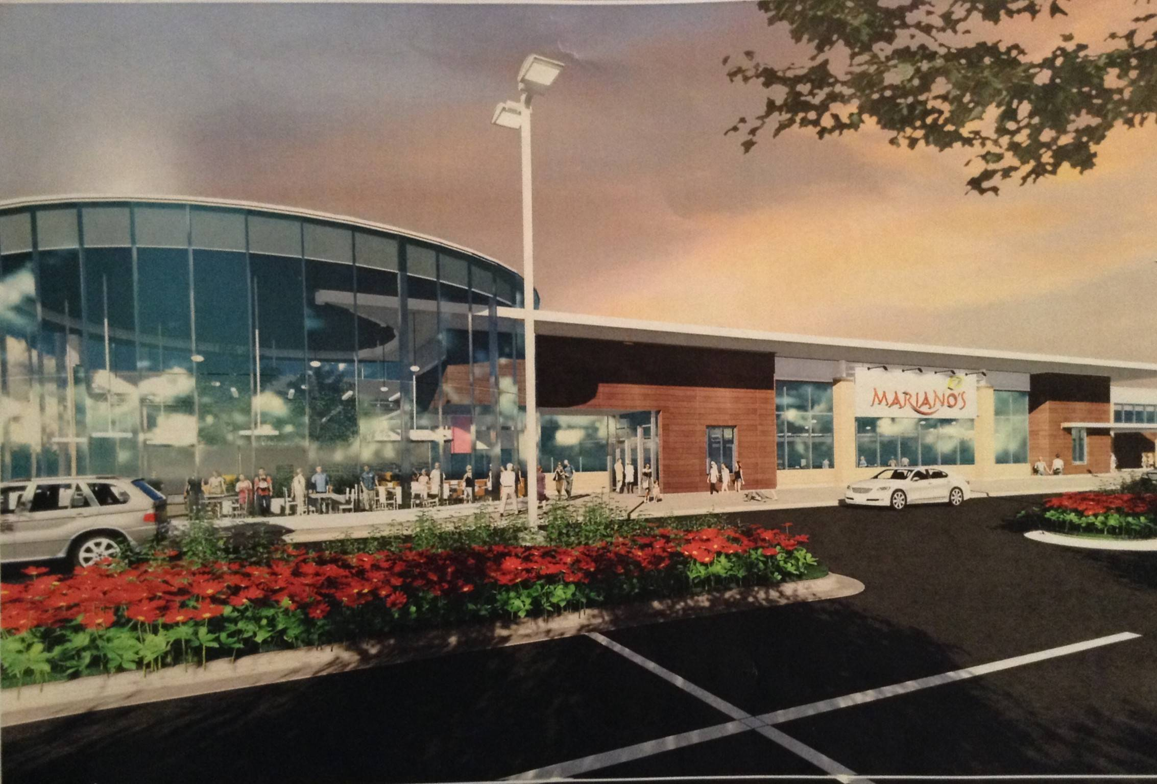 Mariano's developer talks to Des Plaines residents