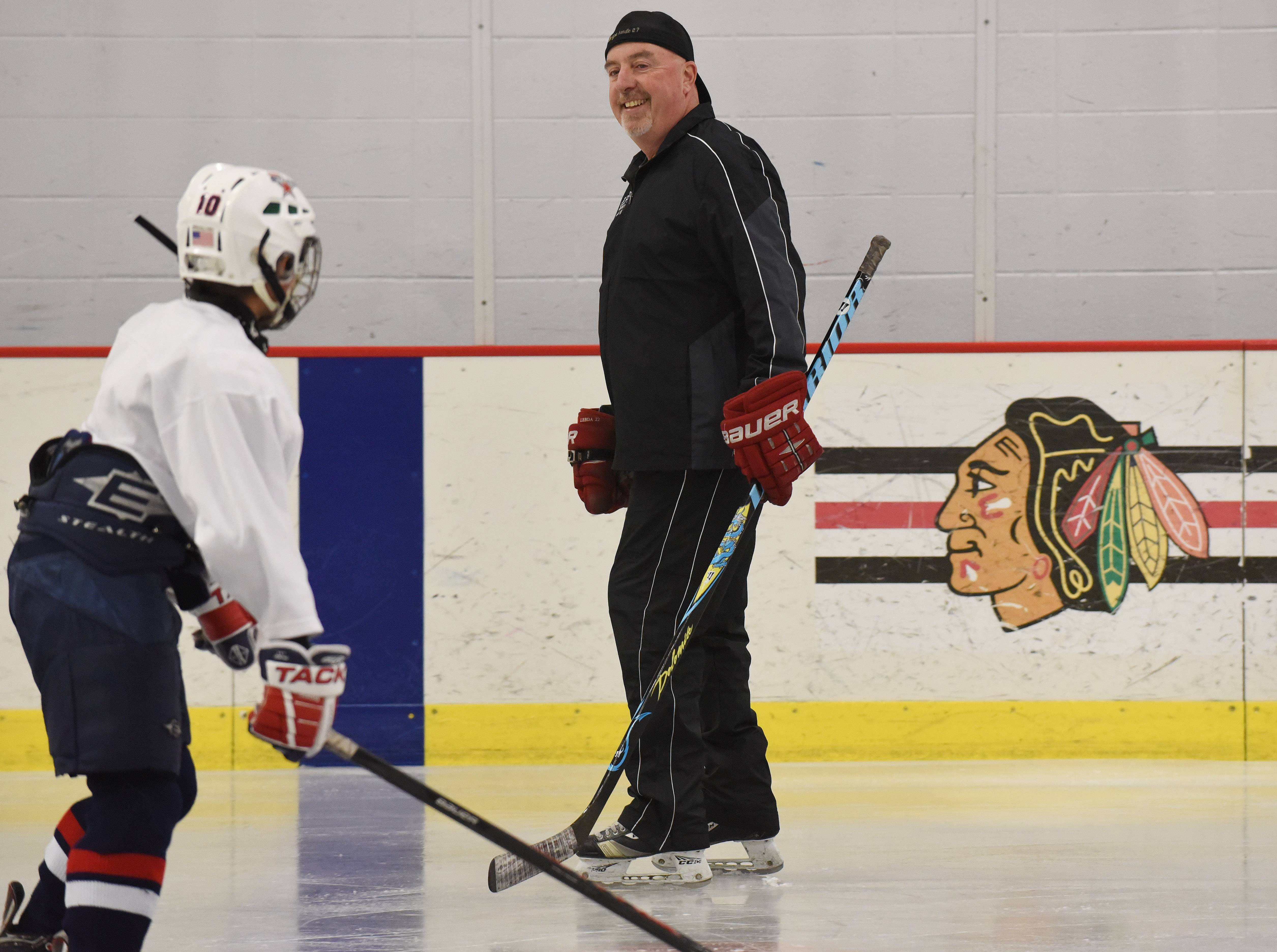 AT DAILYHERALD.COM/MORE: Longtime youth hockey coach Sylvain Turcotte of Buffalo Grove talks about why it's best for parents to address any questions kids might have about the Patrick Kane investigation.