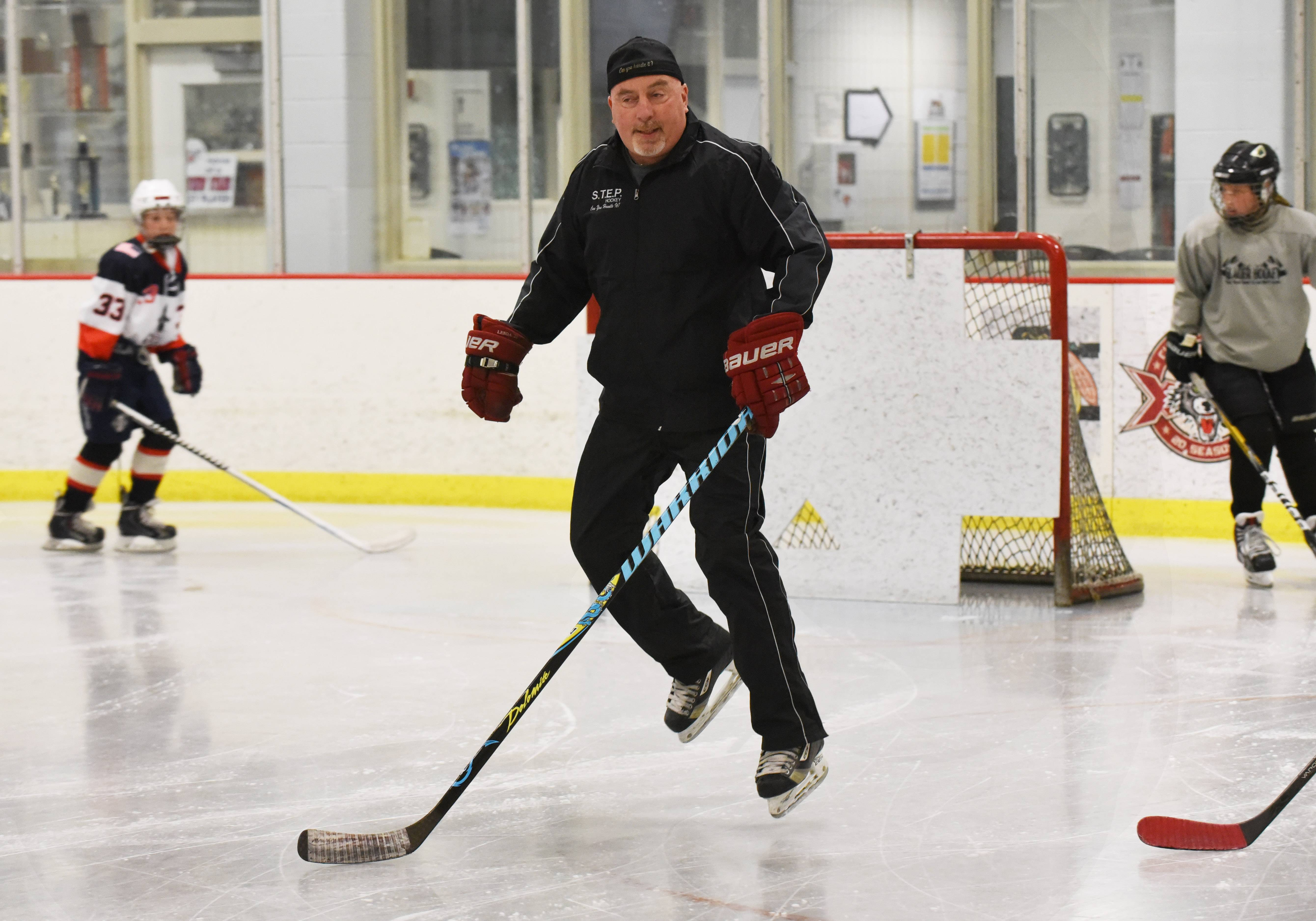 Sylvain Turcotte of Buffalo Grove has been coaching youth hockey in Glenview for 30 years. As the investigation against Blackhawks star Patrick Kane unfolds, coaches and parents are minimizing what they say about the situation to youths.