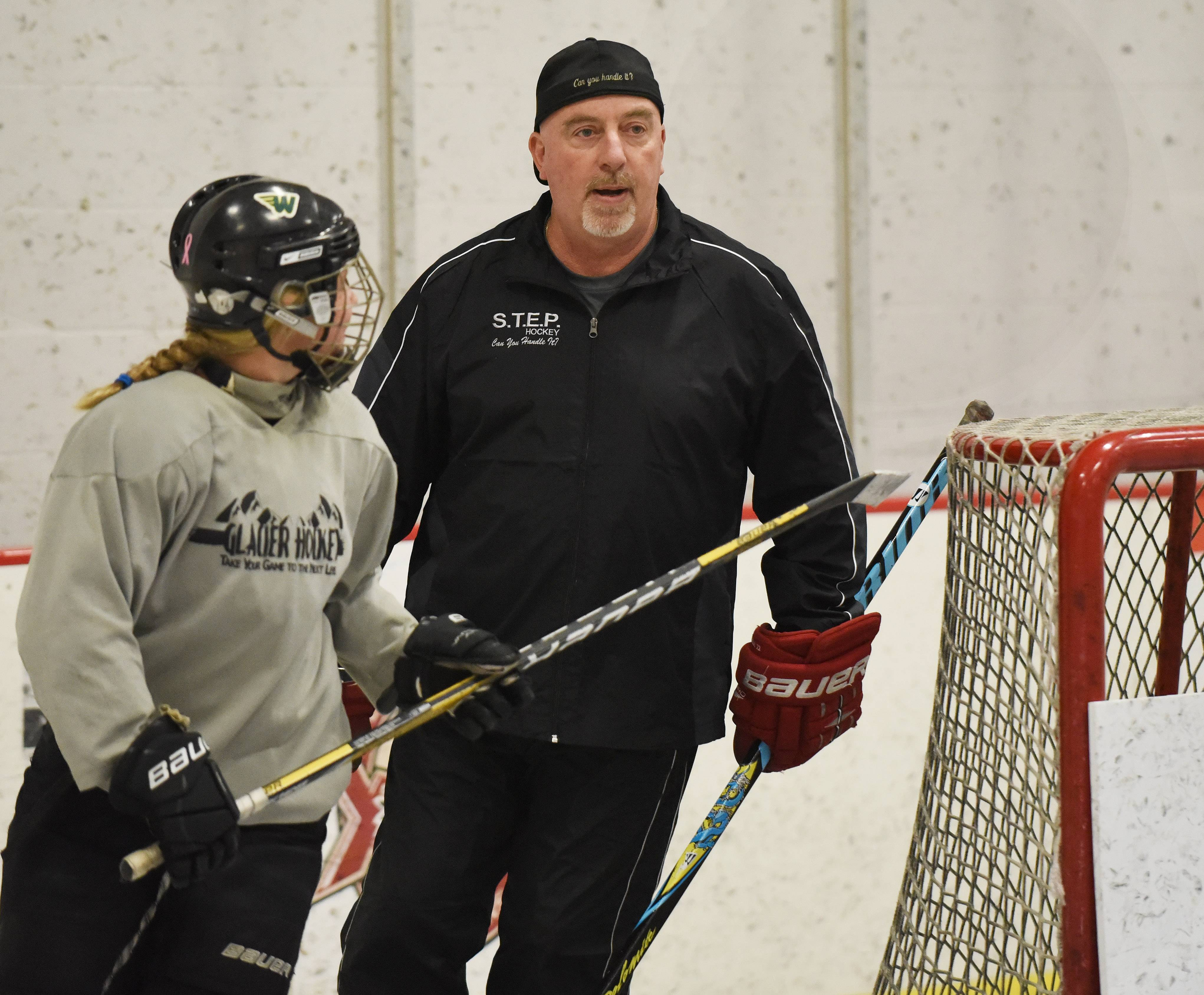 Glenview hockey coach Sylvain Turcotte says so far, more parents than kids are talking about the investigation involving Blackhawks star Patrick Kane.