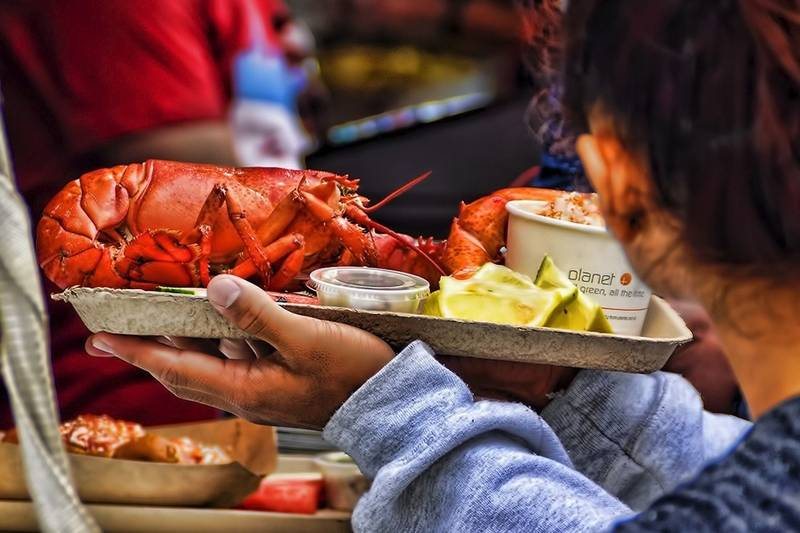 Midwest travel: Good eats at Navy Pier's Great American Lobster Fest