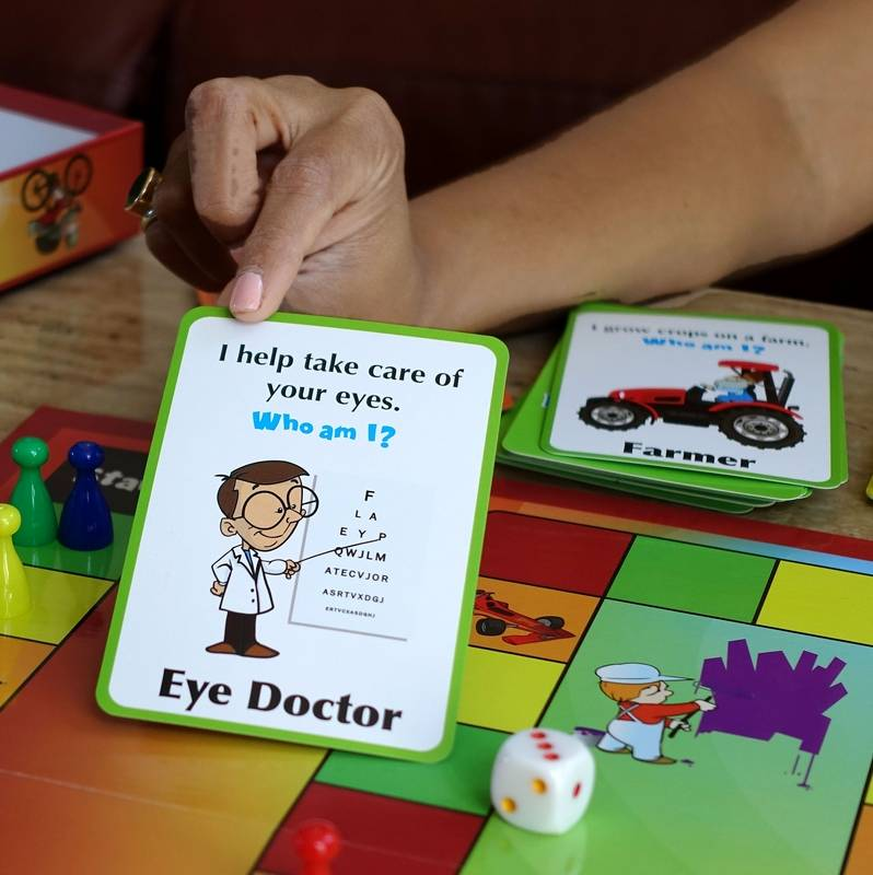 How Naperville mom's board game teaches kids about careers