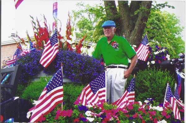 Frank Pesche Was Grand Marshal Of Des Plaines Fourth July 4th Parade In 2007