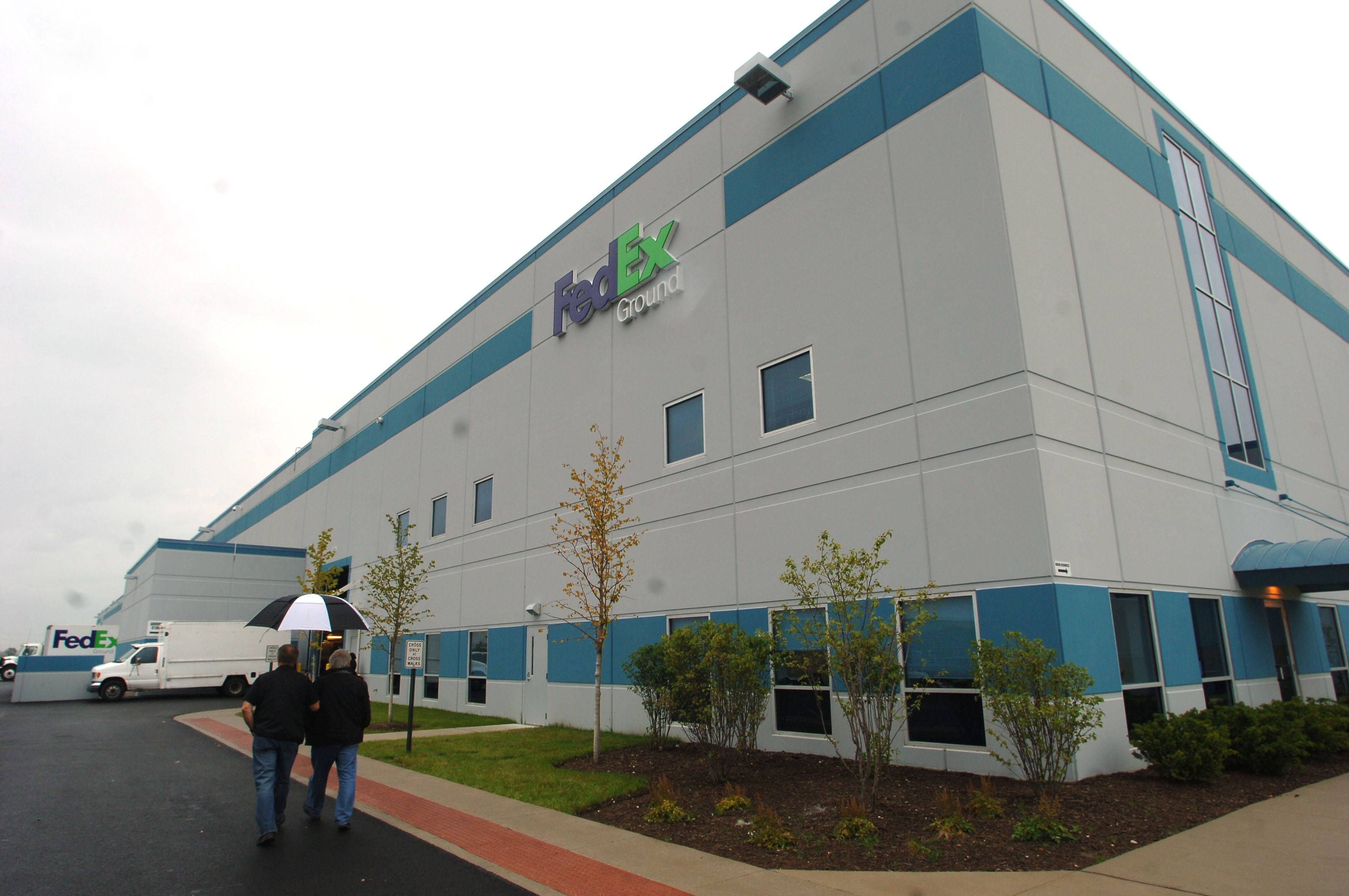 Lake County contributed to an incentive package to bring a FedEx Ground facility to Grayslake, which opened in 2011.
