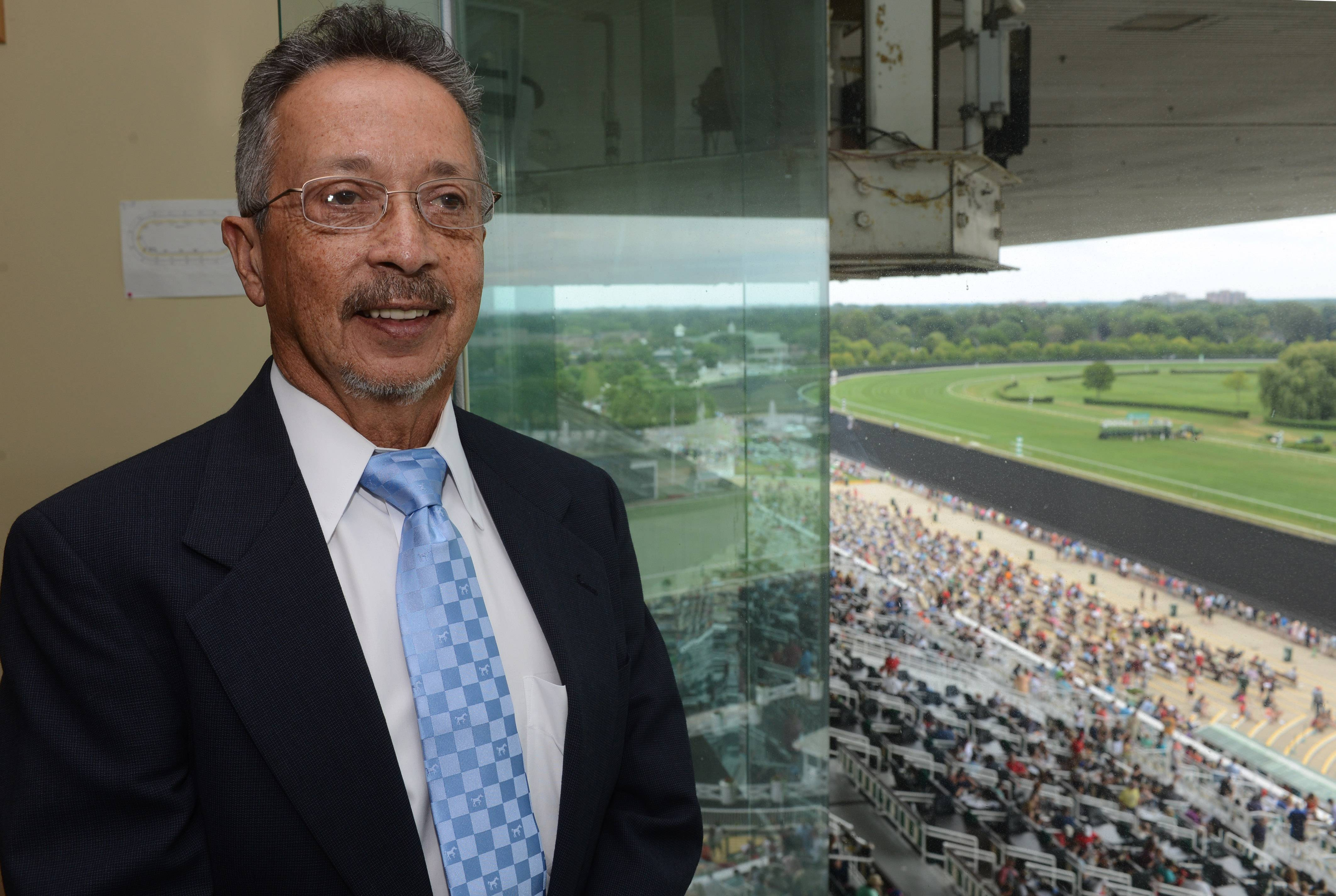 Former jockey Eddie Arroyo will be the racing steward for the Arlington Million on Saturday. He'll oversee his 23rd of the 33 Arlington Millions run since 1981.