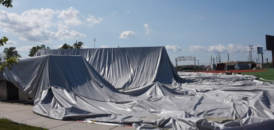 Rosemont Hopes To Be Done With Sports Dome Repairs By Winter