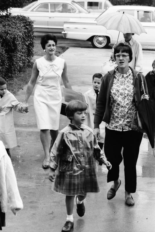 Kids Head Back To School In Palatine September Of 1965