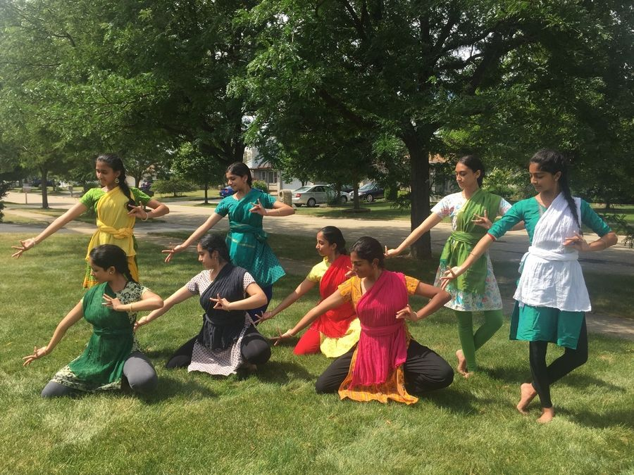 Teenage dancers from Nrithyanjali School of Dance in Bolingbrook will perform an original piece about the mother goddess during the inaugural India Day Parade and festival in Naperville.