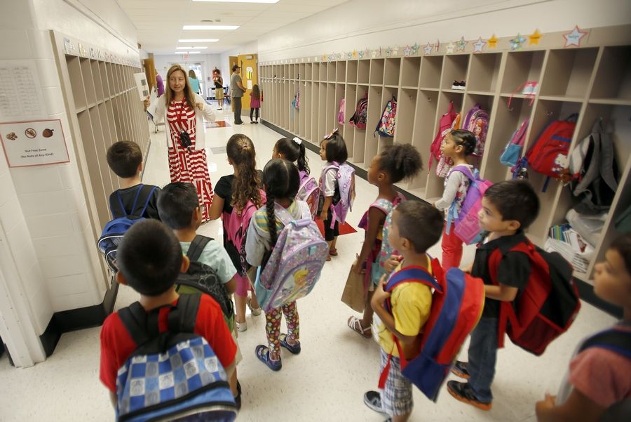 District 300 debuts full-day kindergarten districtwide as classes begin