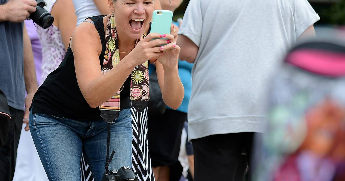 Images: Excitement and nerves as students return to classes