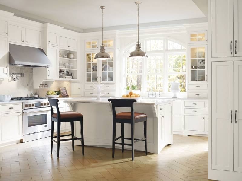 An a z guide to the perfect fit for diy designers for Standard space between counter and upper cabinets