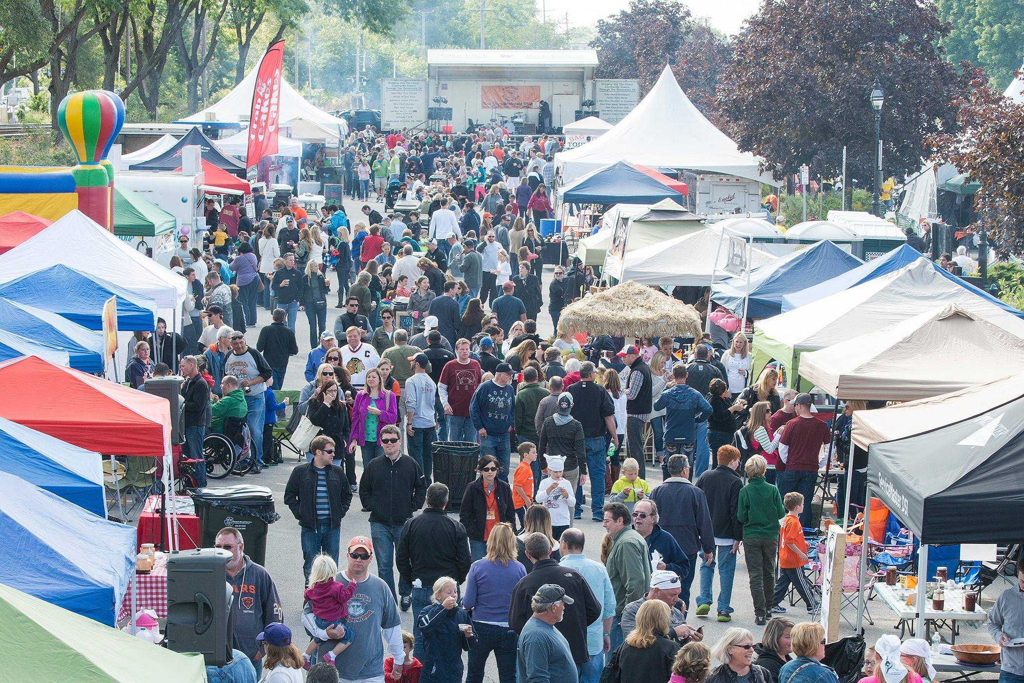 The Glen Ellyn Backyard BBQ returns for its seventh year from noon to 9 p.m. Saturday.