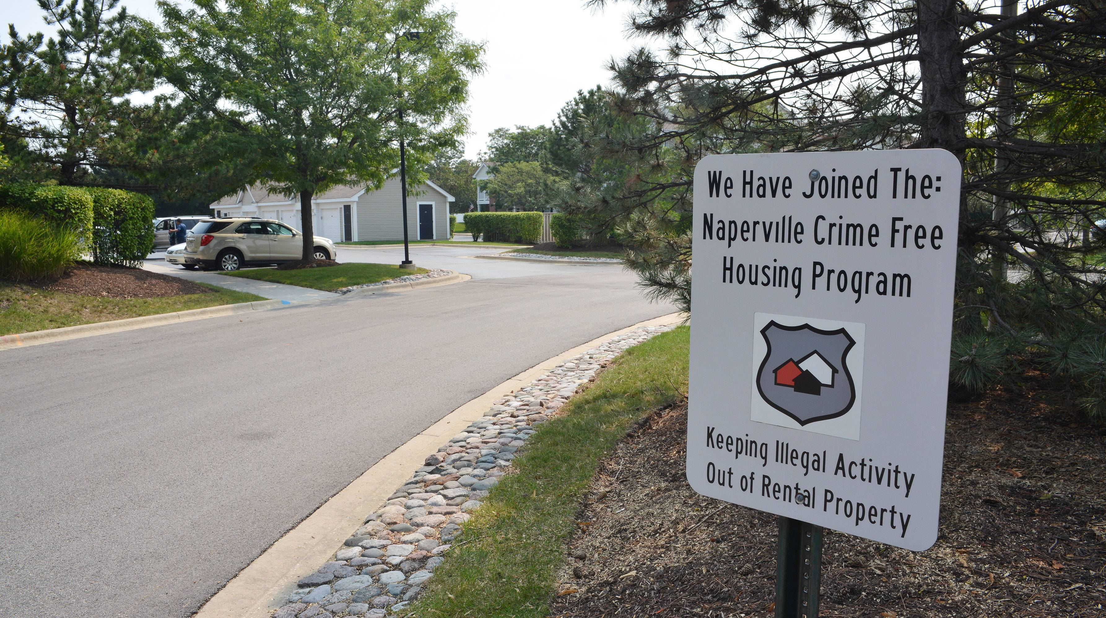 Rental crime-prevention program remaining voluntary in Naperville