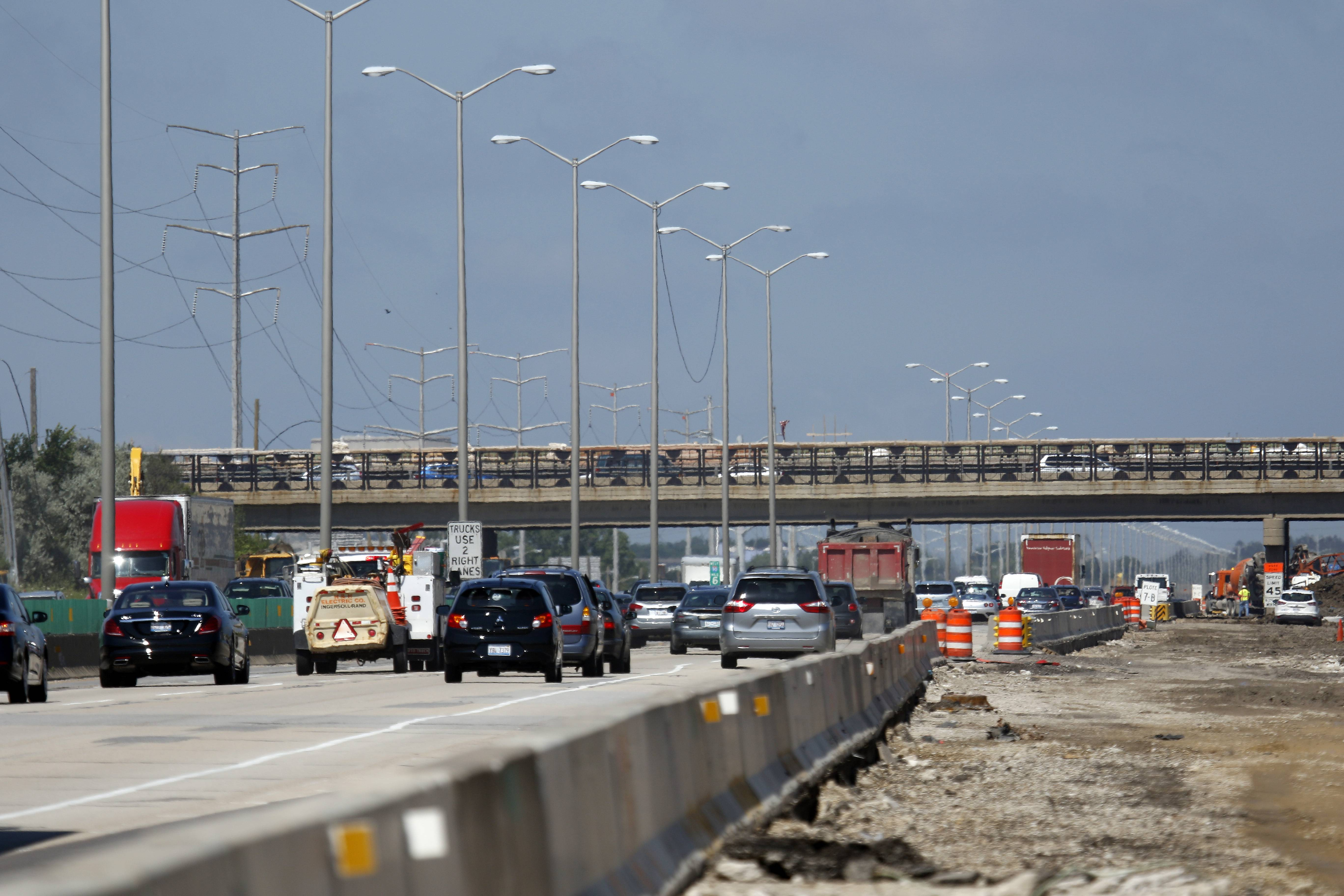 Widening the Jane Addams Tollway means drivers need to be flexible.