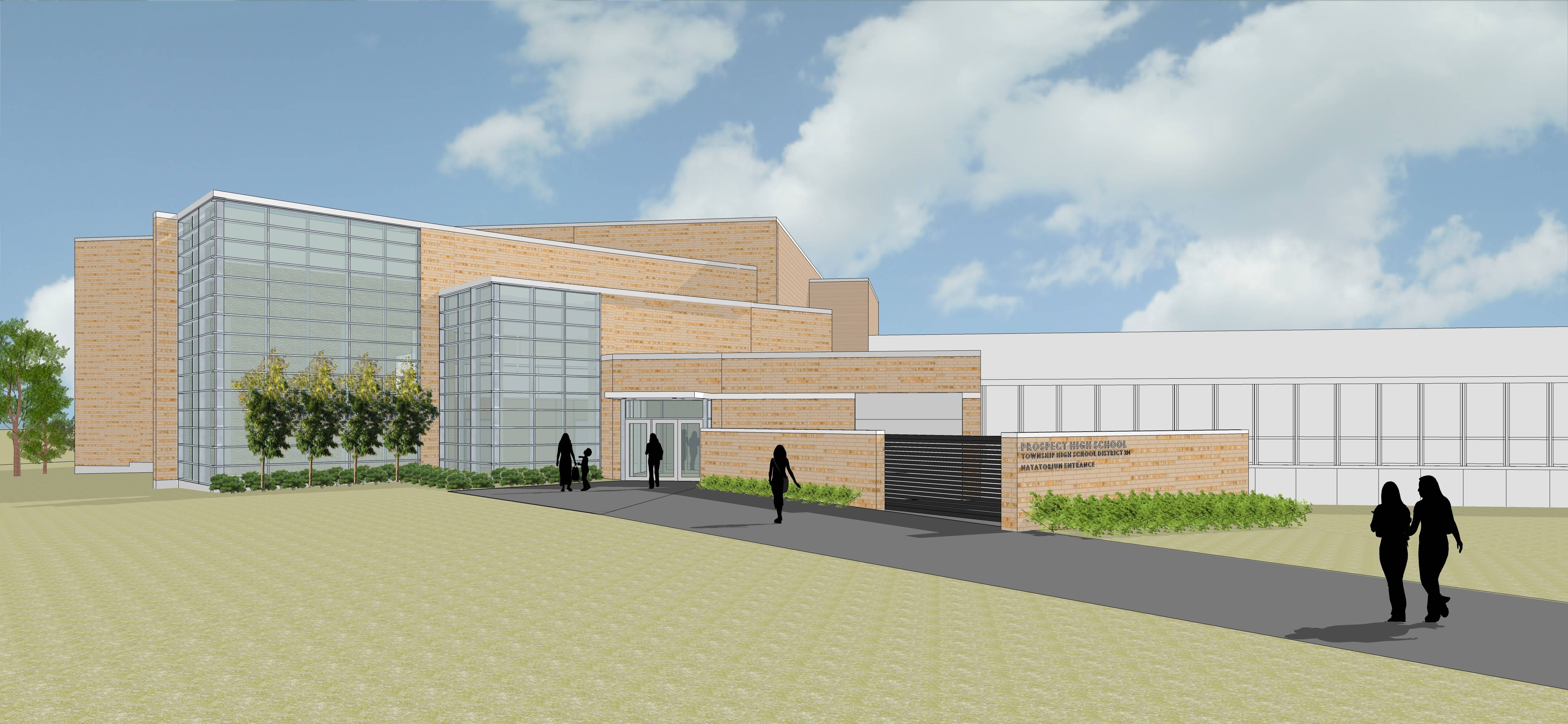 Work underway on Prospect High School's $13 million pool project