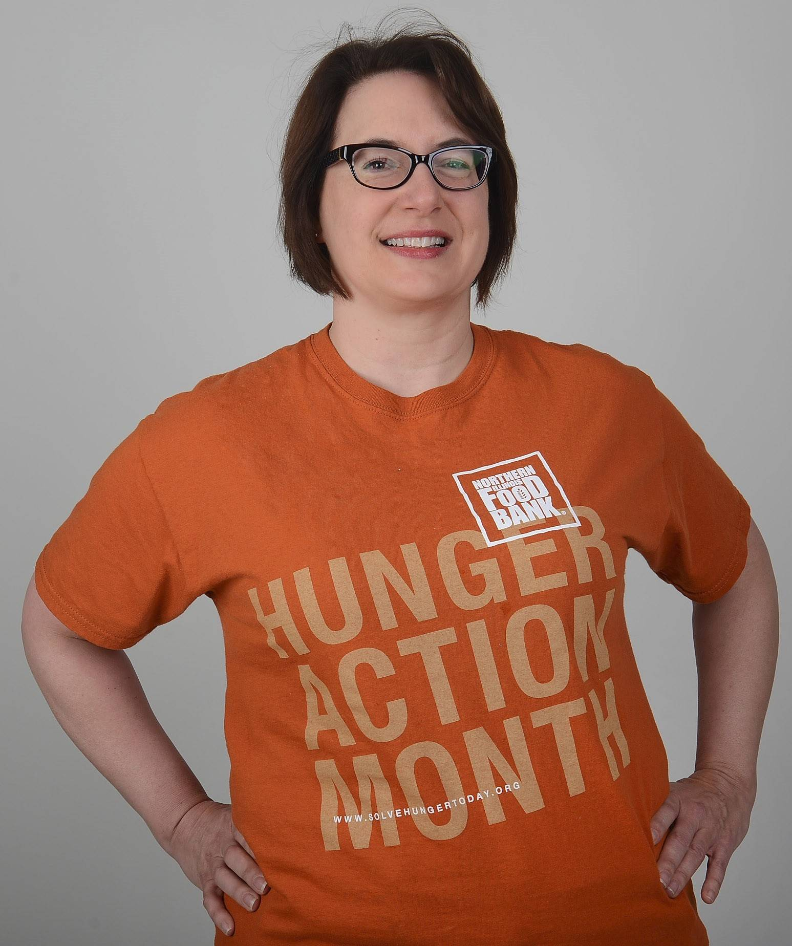 "Wear orange Thursday, Sept. 3, for National ""Go Orange"" day, part of Northern Illinois Food Bank's kick off for Hunger Action Month."