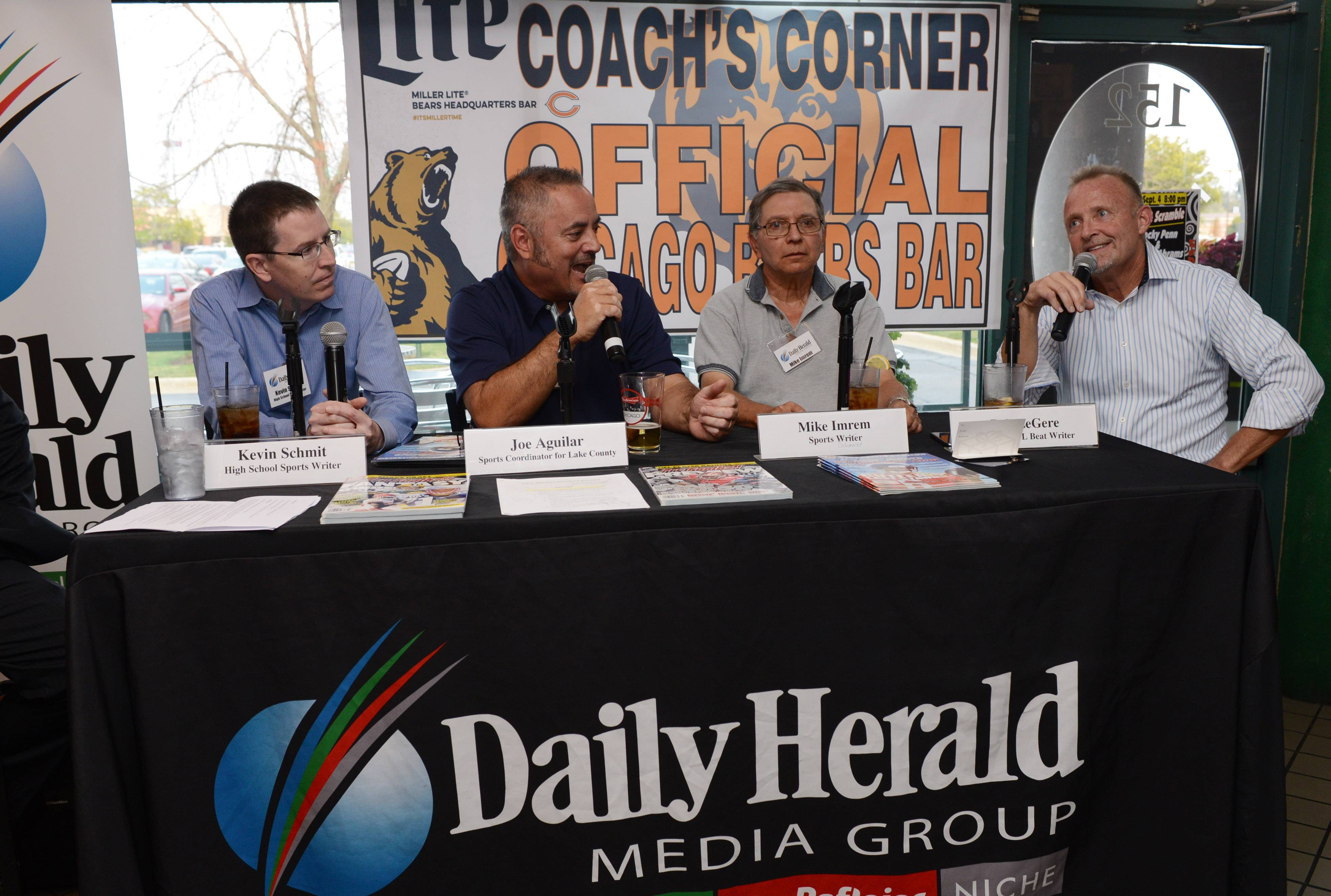 Daily Herald football chat scores at Coach's Corner